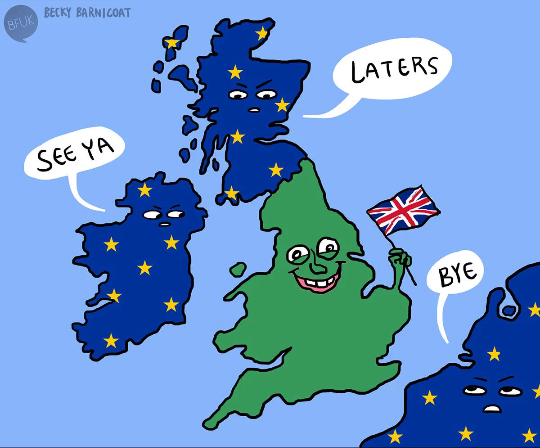 Brexit: it happened