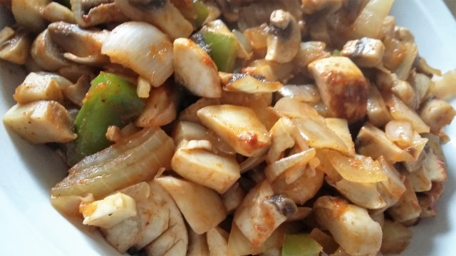 Healthy Mushroom Mince