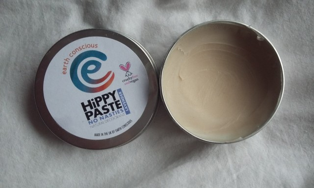 Natural Deodorant Review: Hippy Paste