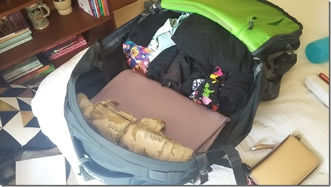 Travelling with ONLY carry-on luggage at 7KG (18)