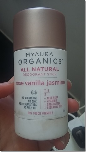 Natural Deodorant Review Myaura Organics