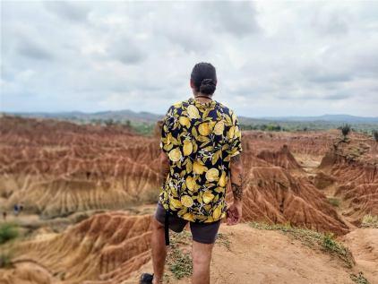 one day at tatacoa desert